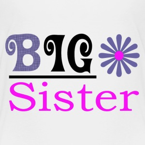Big Sister Girls Premium t-shirt - Kids' Premium T-Shirt