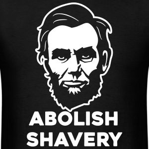Abolish Shavery T-Shirts - Men's T-Shirt