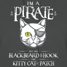 Funny Kitty Cat With Patch Pirate