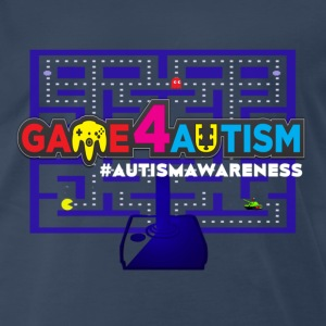 Game4Autism Pacman - Men's Premium T-Shirt