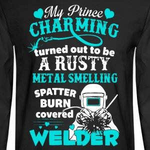 Welder Shirt - Men's Long Sleeve T-Shirt