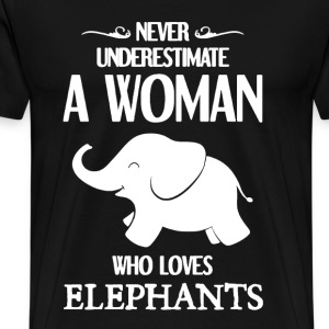 ELEPHANTS Shirt - Men's Premium T-Shirt