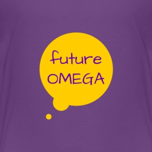 Future Omega Tee Purple - Toddler Premium T-Shirt