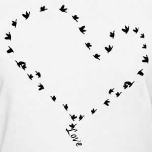 love in flight tee.png Women's T-Shirts - Women's T-Shirt