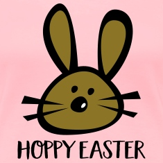 happy easter Women's T-Shirts