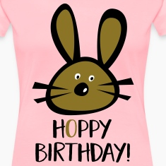 hoppy birthday Women's T-Shirts