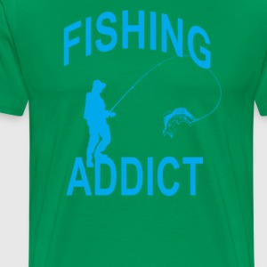 fishing_addict_tshirt_ - Men's Premium T-Shirt