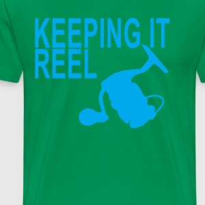 Fish reel t shirts spreadshirt for Keep it reel fishing