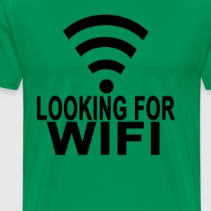 looking_for_wifi_tshirts - Men's Premium T-Shirt