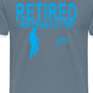 retired_fishing_shirt_tshirt_ - Men's Premium T-Shirt