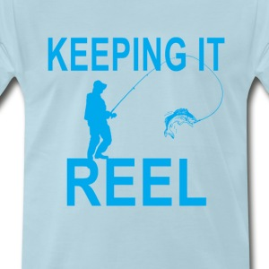 Reels t shirts spreadshirt for Keep it reel fishing
