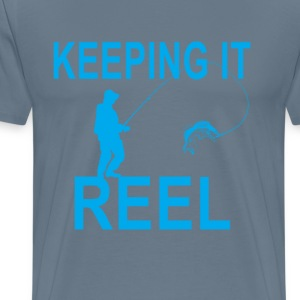 Keeping t shirts spreadshirt for Keep it reel fishing