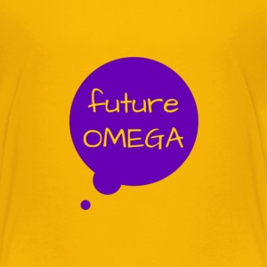Future Omega Tee Gold - Toddler Premium T-Shirt
