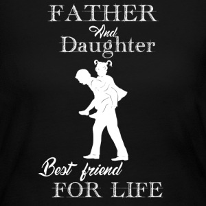 Father And Daughter - Women's Long Sleeve Jersey T-Shirt