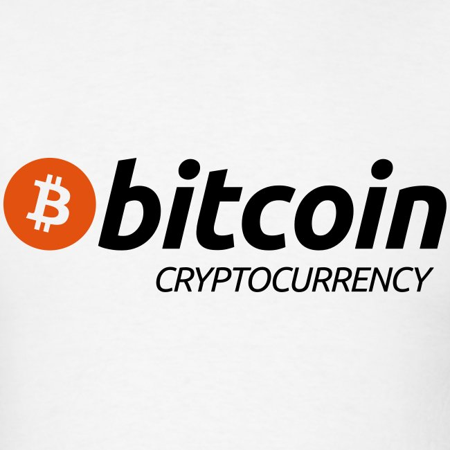 Bitcoin Cryptocurrency White T Shirt