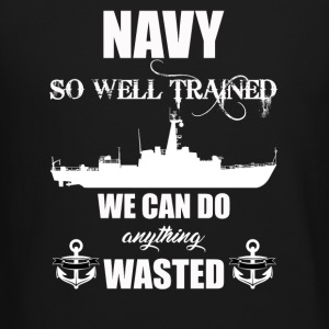 Well Trained Navy - Crewneck Sweatshirt