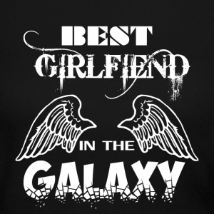 Best Girlfriend In Galaxy - Women's Long Sleeve Jersey T-Shirt