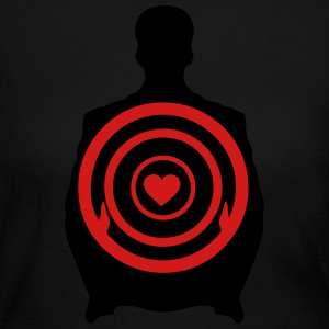 human target 5 Long Sleeve Shirts - Women's Long Sleeve Jersey T-Shirt