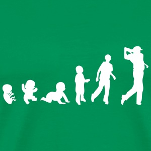 golf evolution T-Shirts - Men's Premium T-Shirt