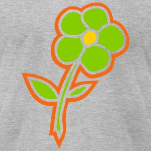 flower T-Shirts - Men's T-Shirt by American Apparel