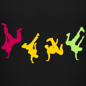 break dance hip hop dancer 1300 Kids' Shirts - Kids' Premium T-Shirt