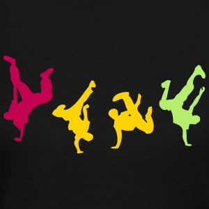 break dance hip hop dancer 1300 Long Sleeve Shirts - Women's Long Sleeve Jersey T-Shirt