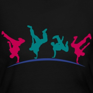 break dance hip hop dancer 1399 Long Sleeve Shirts - Women's Long Sleeve Jersey T-Shirt
