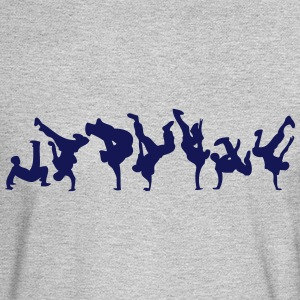 break dance hip hop dancer 1366 Long Sleeve Shirts - Men's Long Sleeve T-Shirt