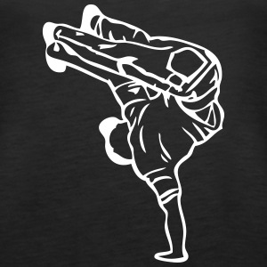 break dance hip hop dancer 1388 Tanks - Women's Premium Tank Top
