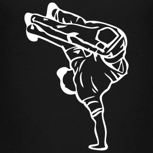 break dance hip hop dancer 1388 Kids' Shirts - Kids' Premium T-Shirt