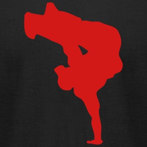 breakdance hip hop dancer 13 T-Shirts - Men's T-Shirt by American Apparel