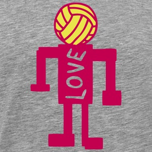 volleyball artistic character 1 T-Shirts - Men's Premium T-Shirt