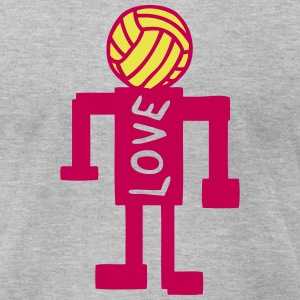 volleyball artistic character 1 T-Shirts - Men's T-Shirt by American Apparel