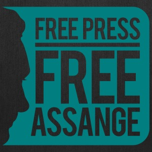Free Press Free Assange Bags & backpacks - Tote Bag