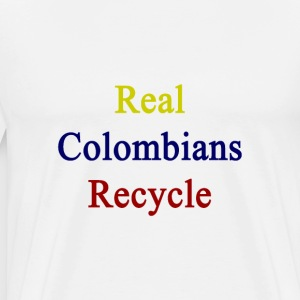 real_colombians_recycle T-Shirts - Men's Premium T-Shirt