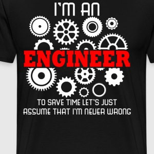 I am An Engineer Profession - Men's Premium T-Shirt