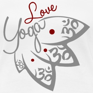 Love Yoga  - Women's Premium T-Shirt