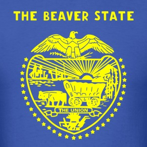 Oregon shirt—The Beaver State - Men's T-Shirt