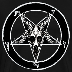 Baphomet Pentagram - Men's Premium T-Shirt