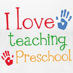 Preschool Teacher Gift Women's T-Shirts - Women's Premium T-Shirt
