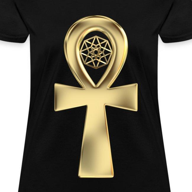 TesserAnkh Gold (2 sided)