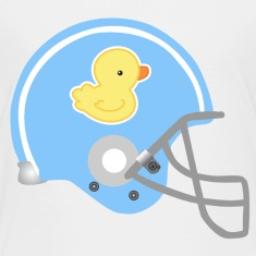 Baby Football Helmet Cute Baby & Toddler Shirts