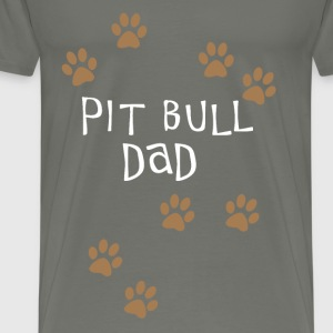 Pit Bull Dad - Men's Premium T-Shirt