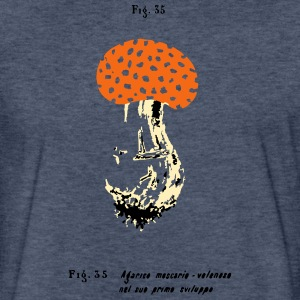 TOADSTOOL THREE-COLOR ILLUSTRATION - Fitted Cotton/Poly T-Shirt by Next Level