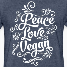 Love Peace Vegan T-Shirts