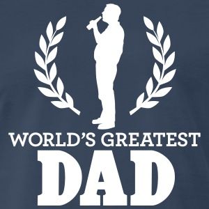 WORLD'S GREATEST DAD T-Shirts - Men's Premium T-Shirt