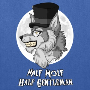 Half-Wolf Half-Gentleman Bags & backpacks - Tote Bag