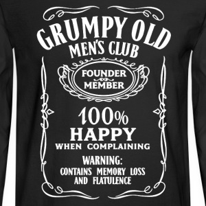 Grumpy Old Men's Shirt - Men's Long Sleeve T-Shirt