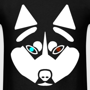 WHITE HUSKY - Men's T-Shirt