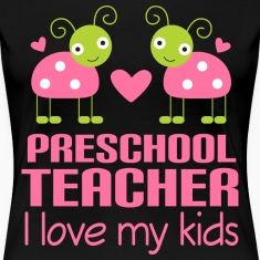 Preschool Teacher Pink Women's T-Shirts